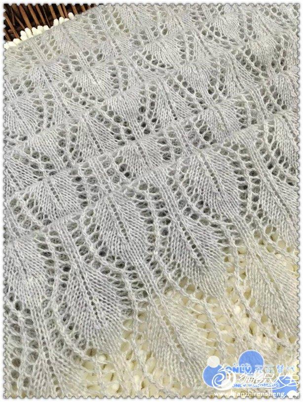 手编女士羊绒围巾