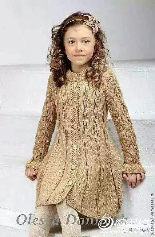 手编款儿童大衣款式