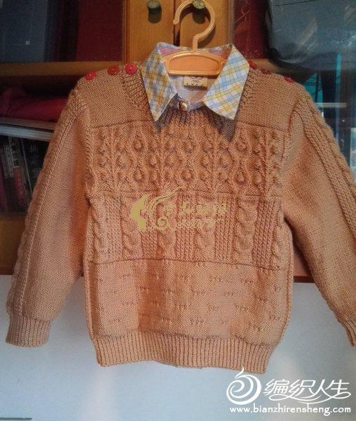 打的小孩毛衣款式