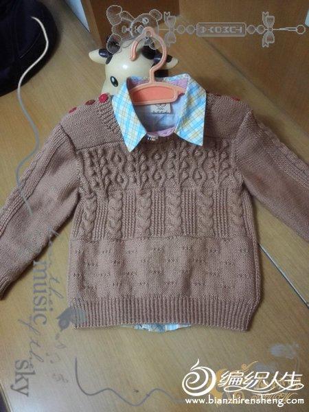 男娃毛衣款式