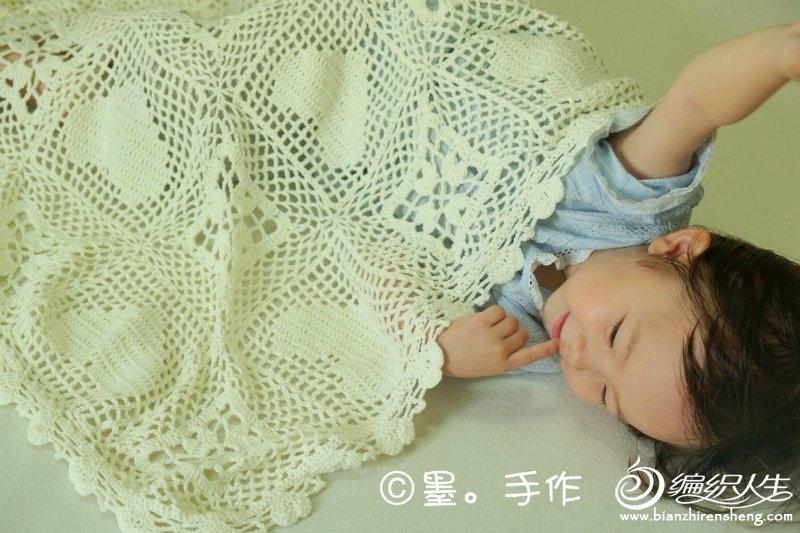 钩针宝宝毯