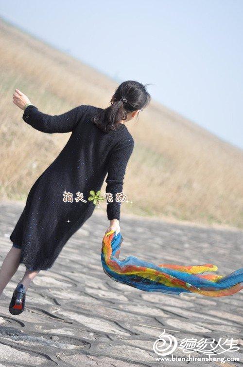 女士棒针连衣裙