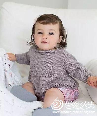毛线编织宝宝毛衣