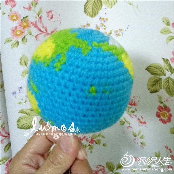 毛线编织地球