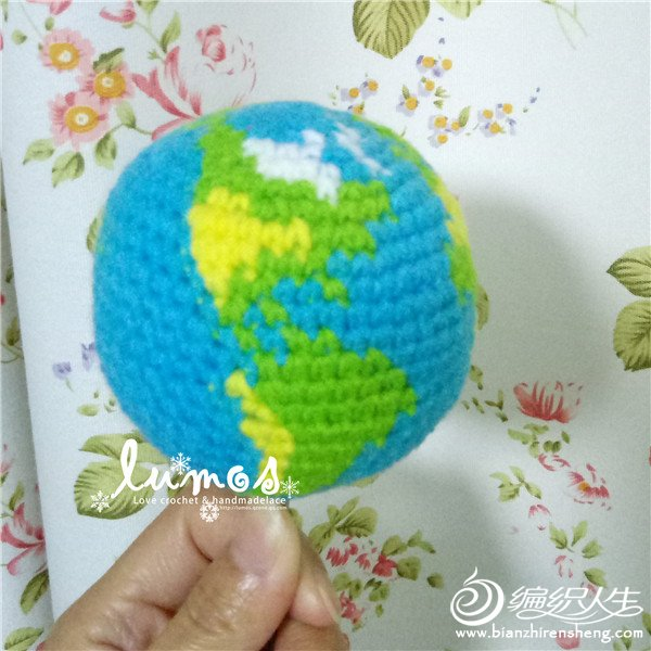 钩针编织地球