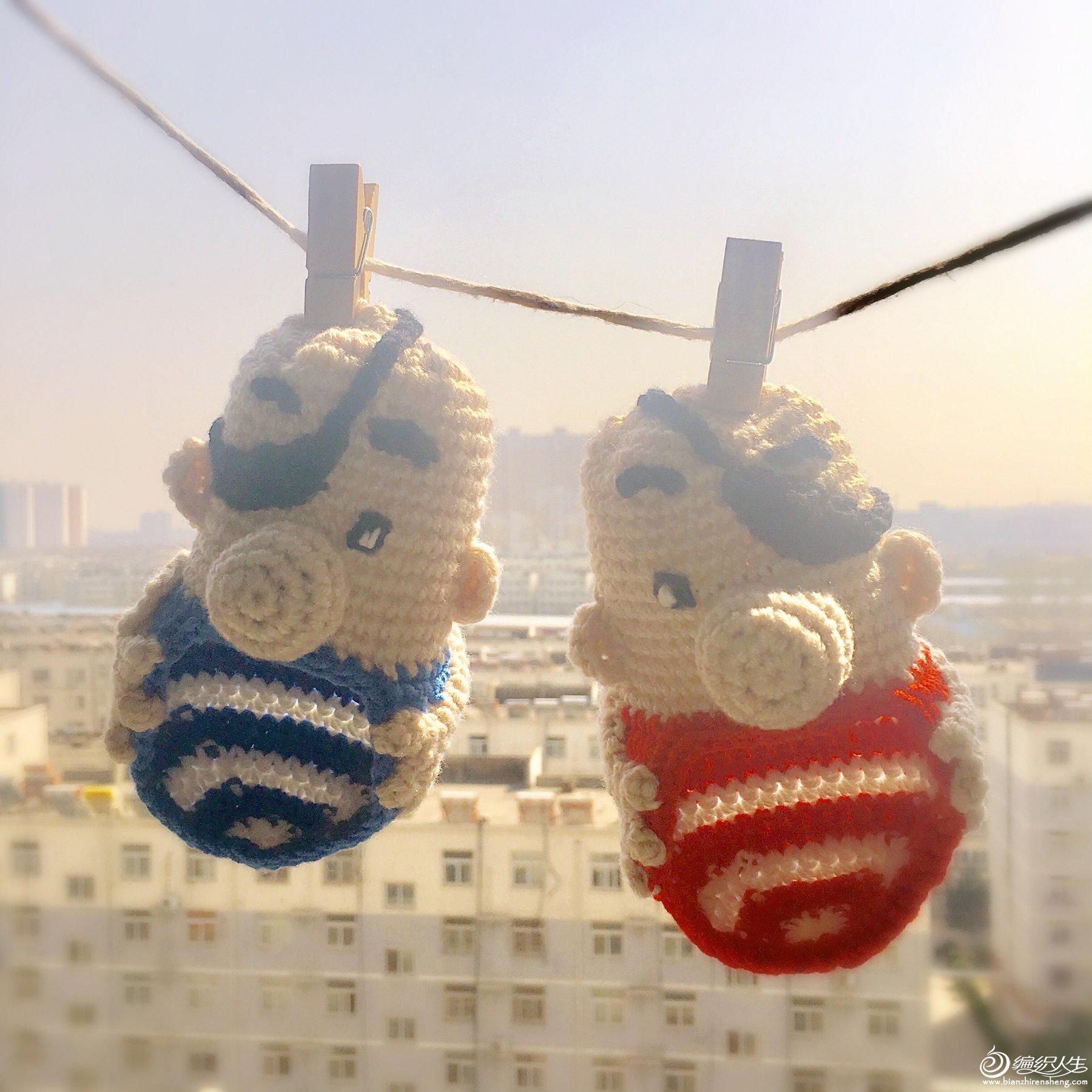 趣味编织宝宝毛线鞋