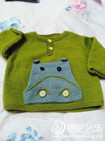 可爱宝宝棒针毛衣