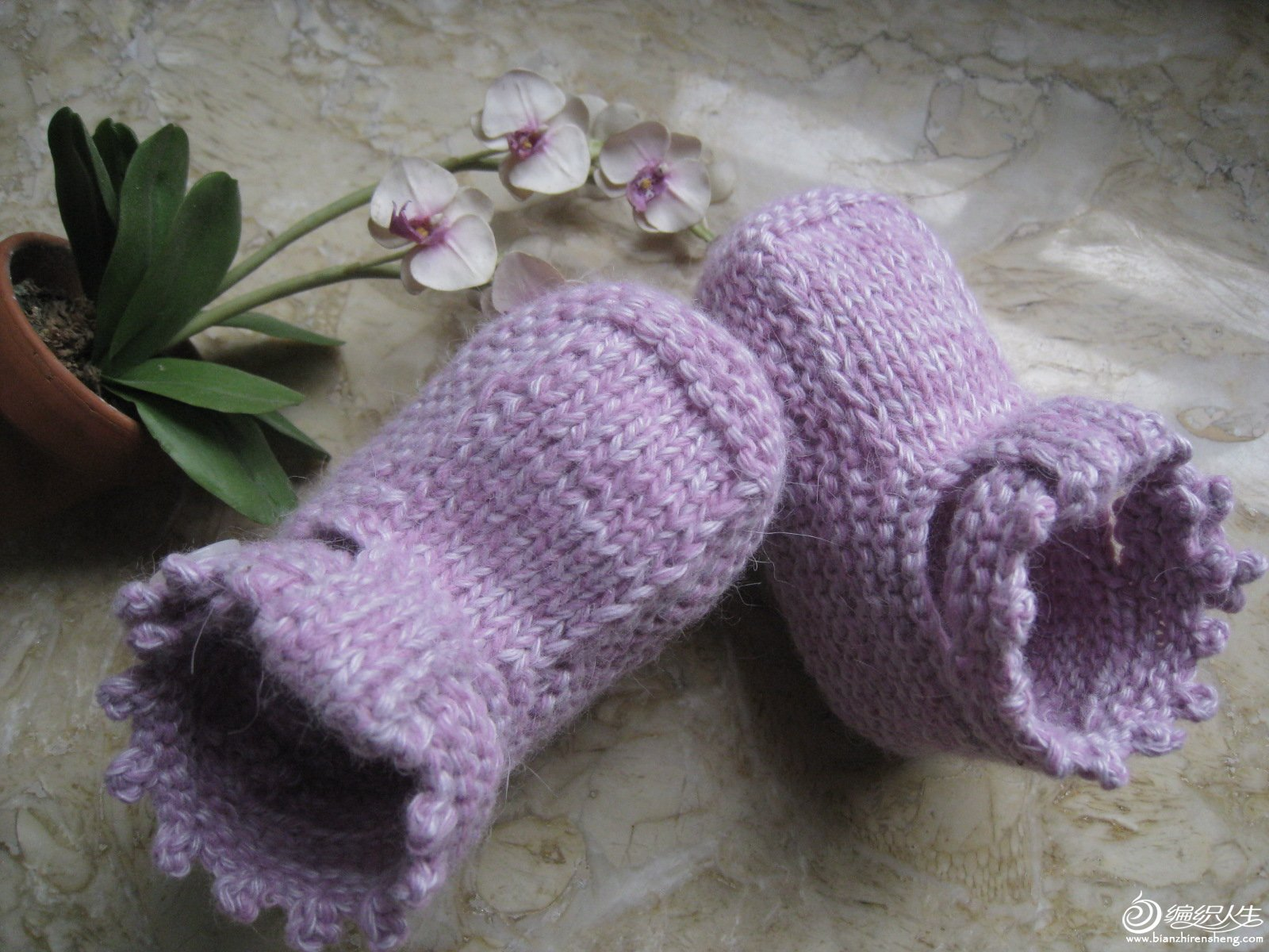 宝宝毛线鞋袜