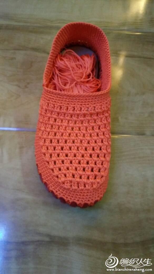 蕾丝――手编钩针凉鞋