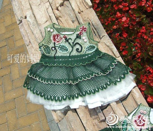 爱尔兰钩花童裙