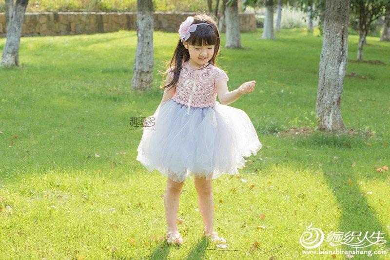 儿童钩针纱裙