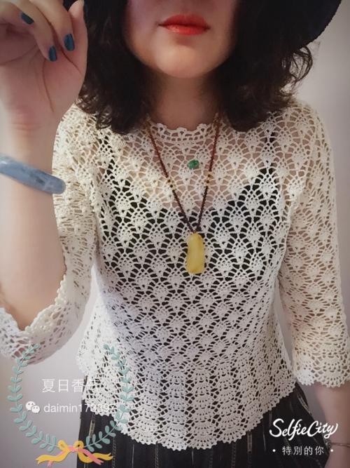 [套头衫] 夏日香气之--玛丽!(经典志田款钩衣) - yn595959 - yn595959 彦妮