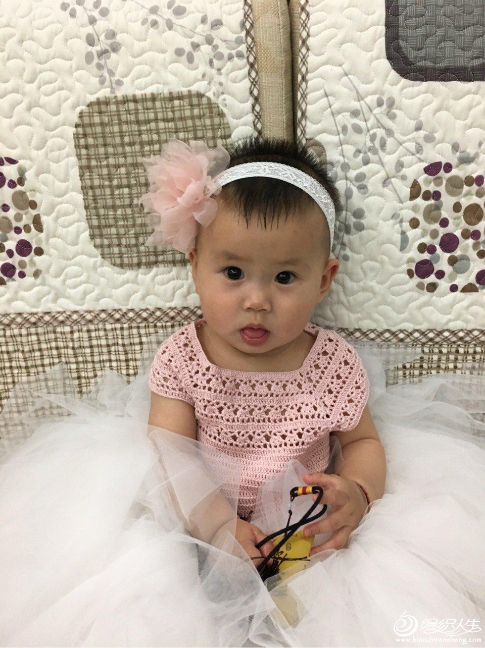 宝宝钩针蓬蓬裙