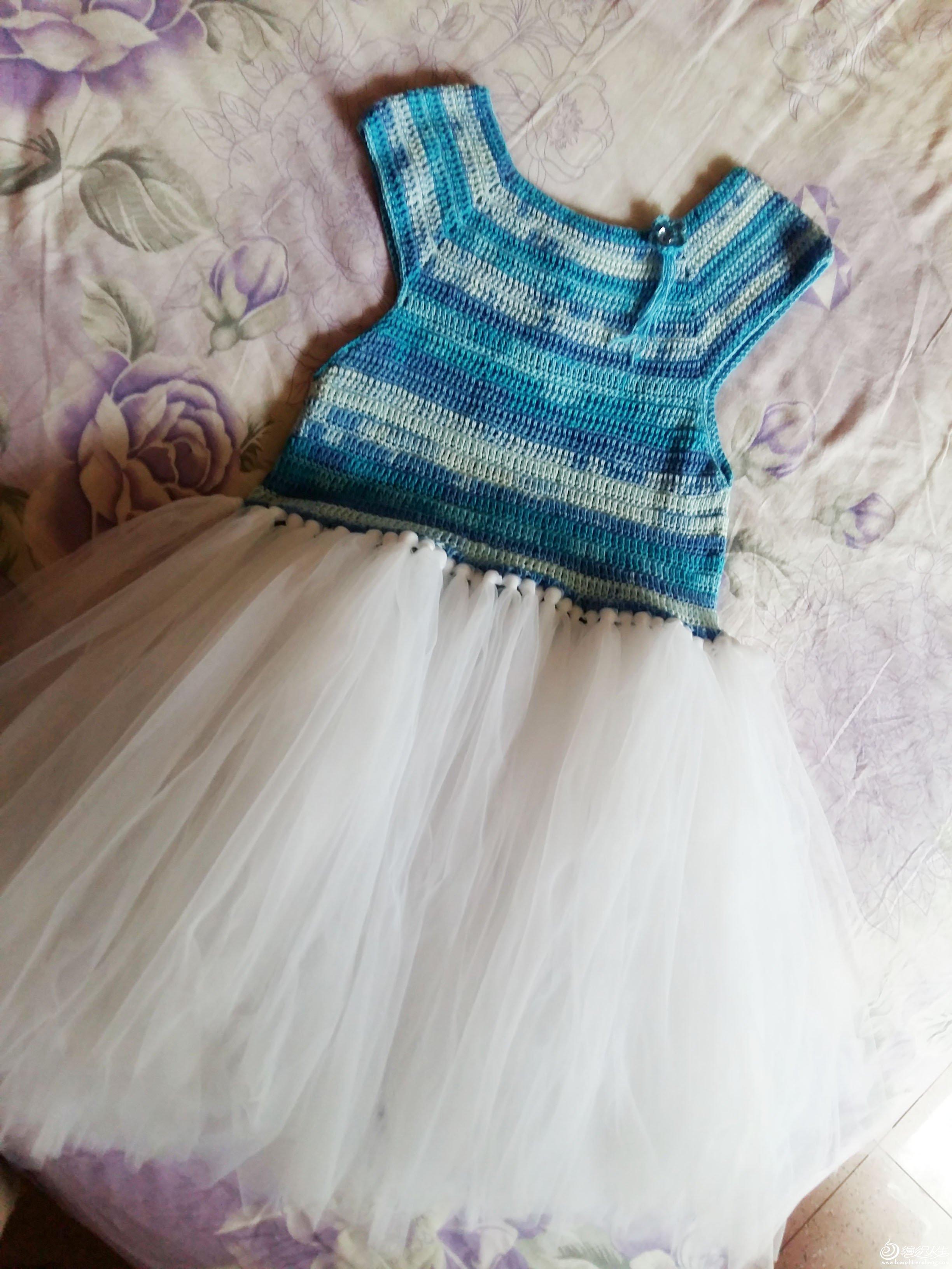 儿童钩针蓬蓬裙