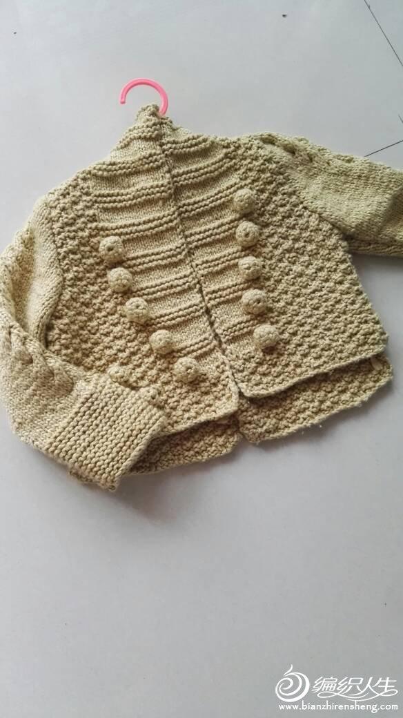 英伦复古风粗针织外套毛衣