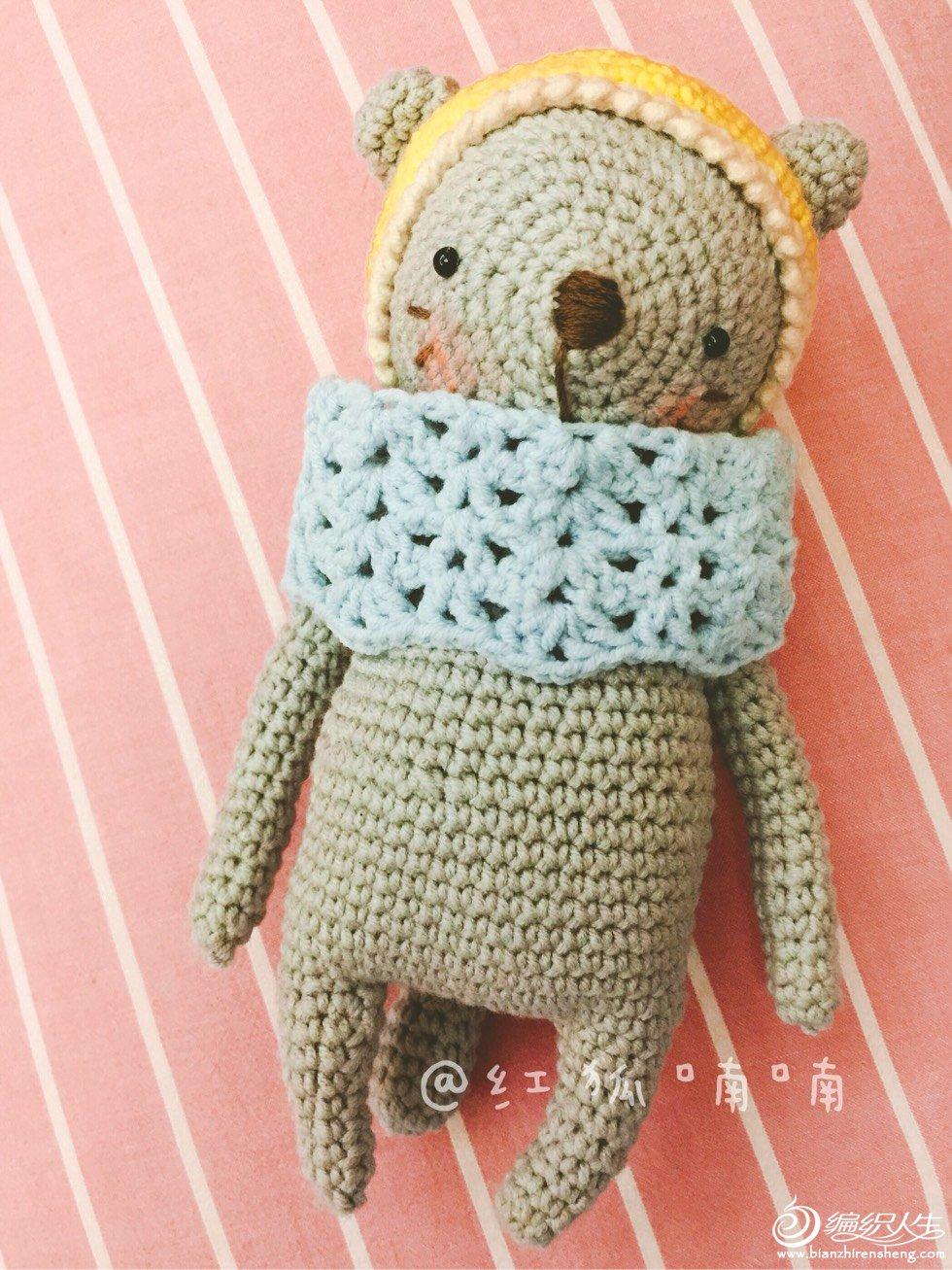 钩针熊宝宝