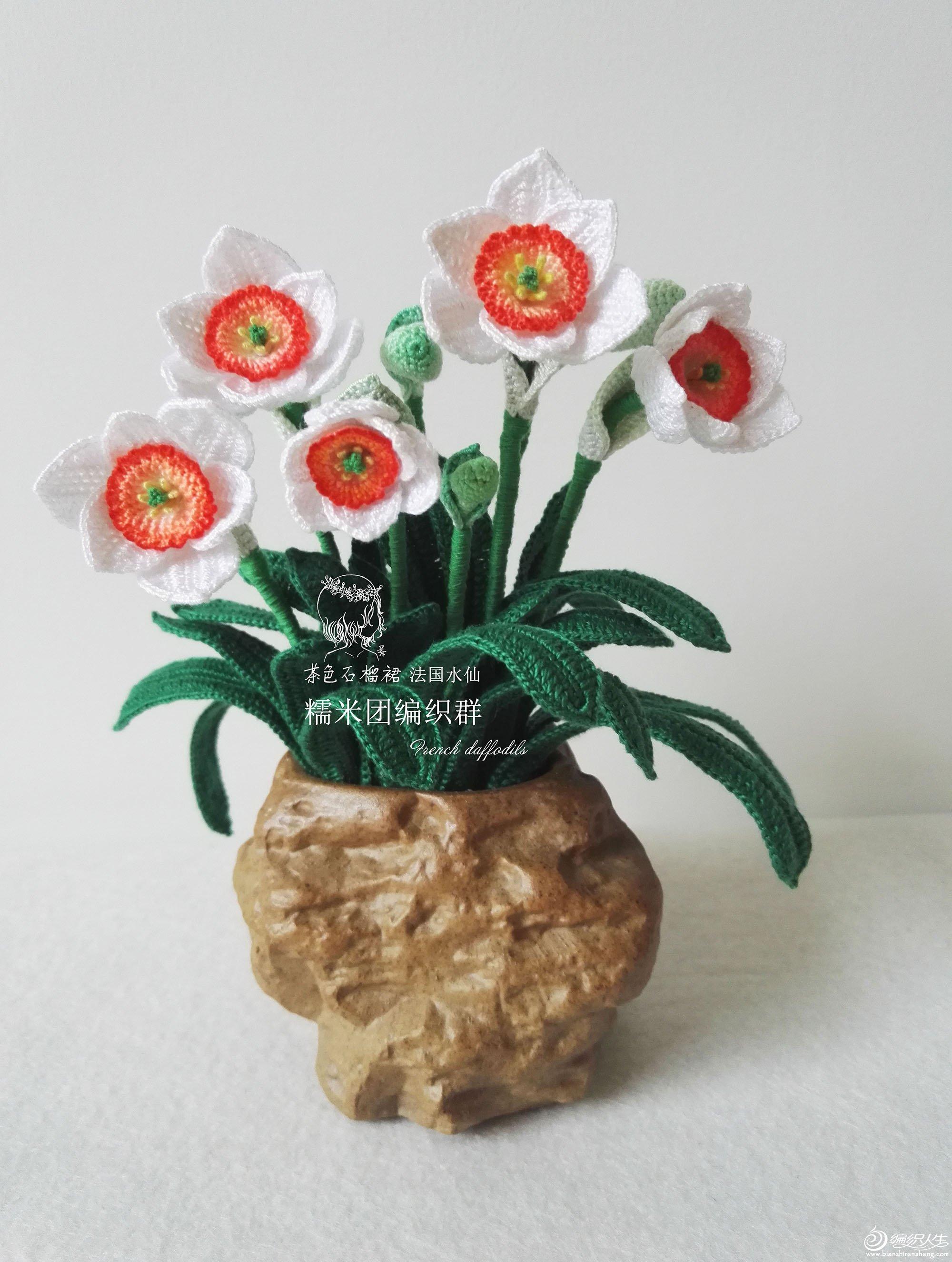 钩针水仙花