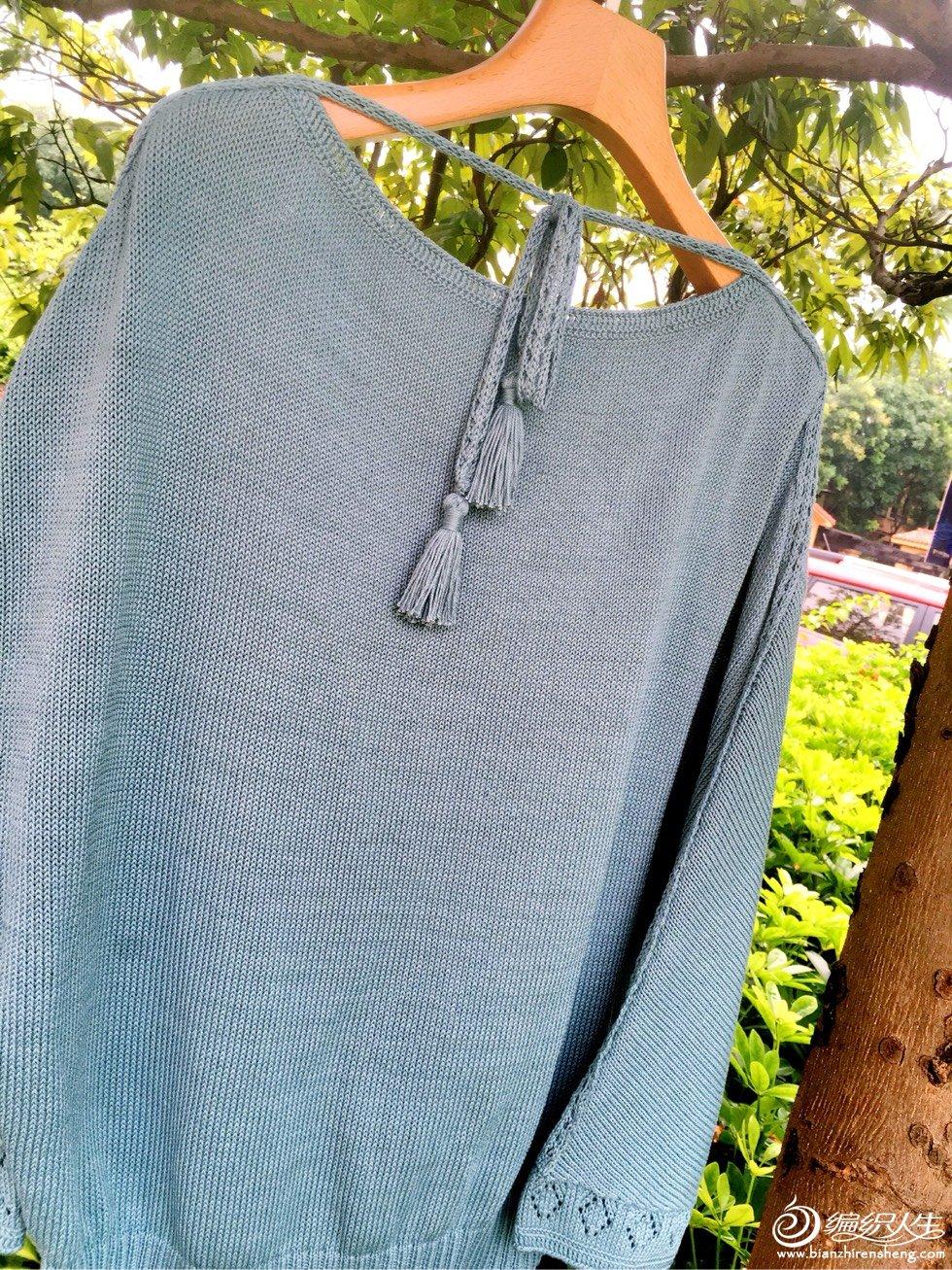 家用编织机机织一字领毛衣