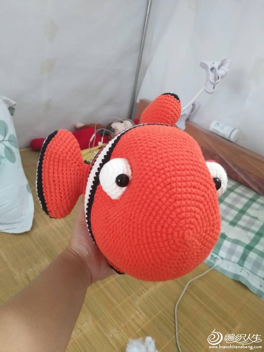 钩针小丑鱼