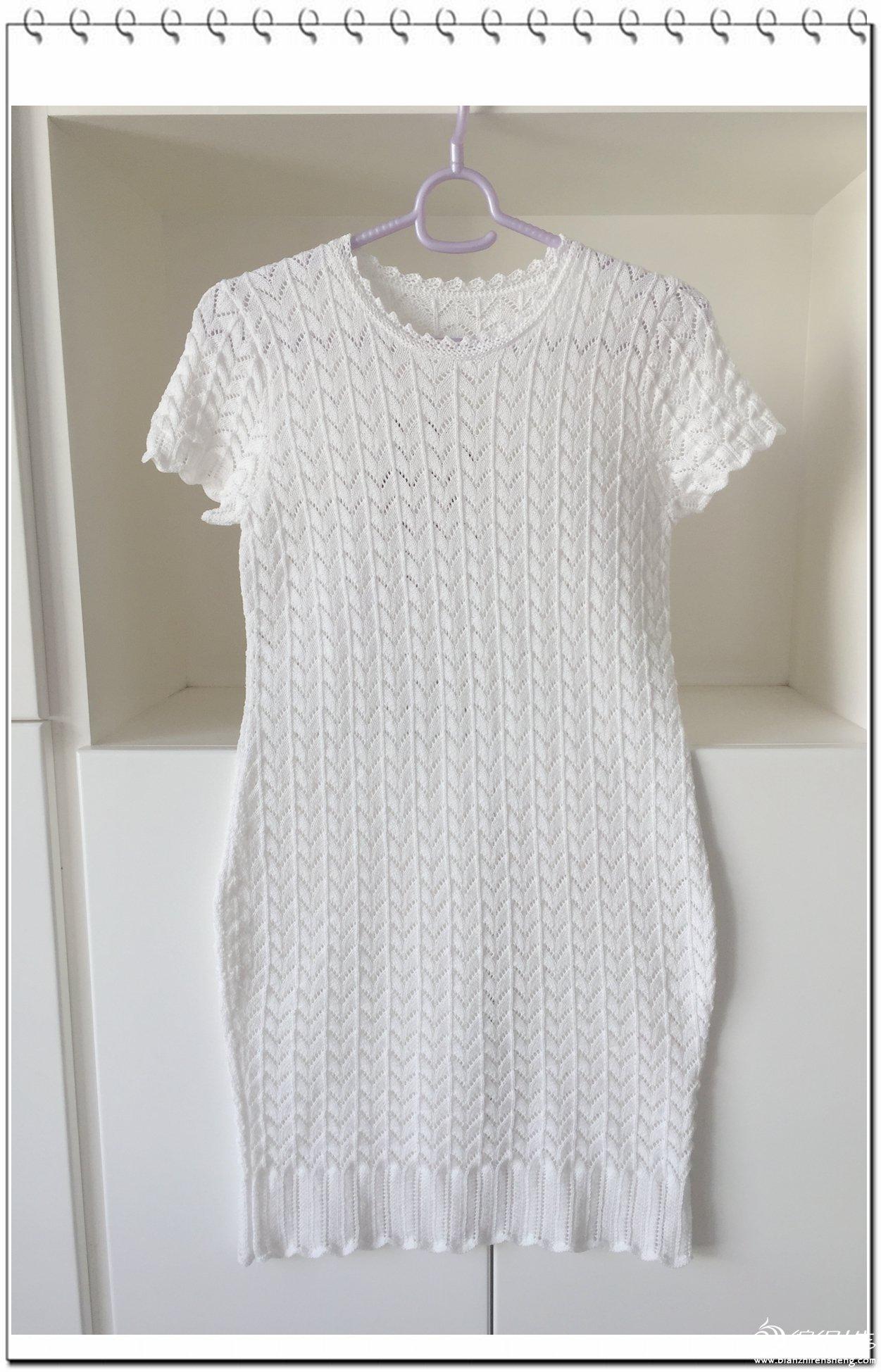 女士棒针旗袍裙
