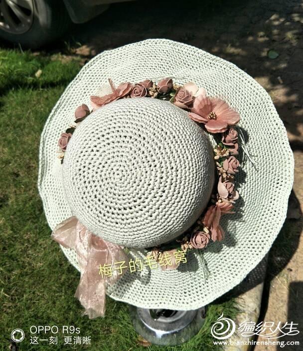 钩针女士帽子