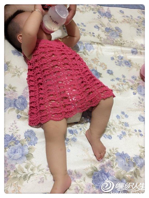 婴幼儿钩针连衣裙