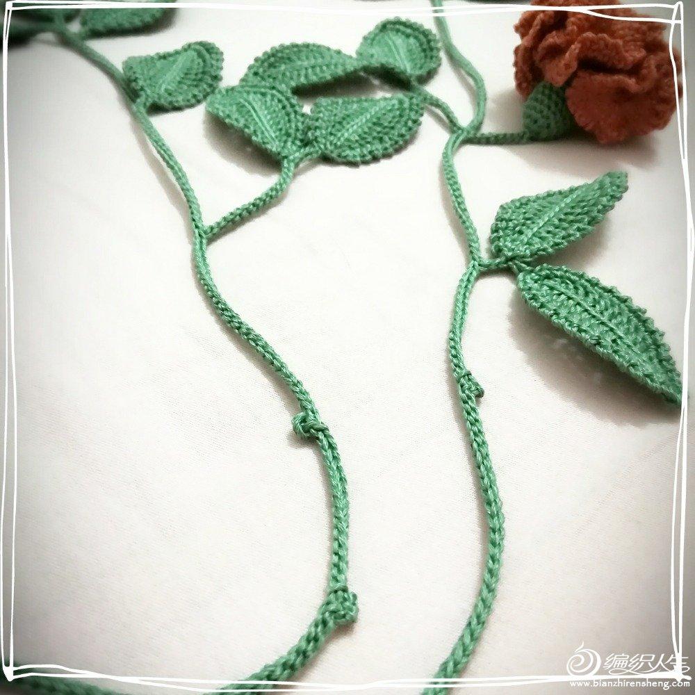 钩针花朵装饰