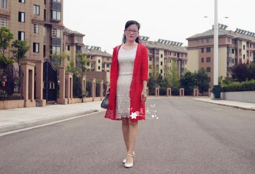 【夏天手工】——如风 简单实用型长开衫 - ysp1966 - 快乐心情的博客