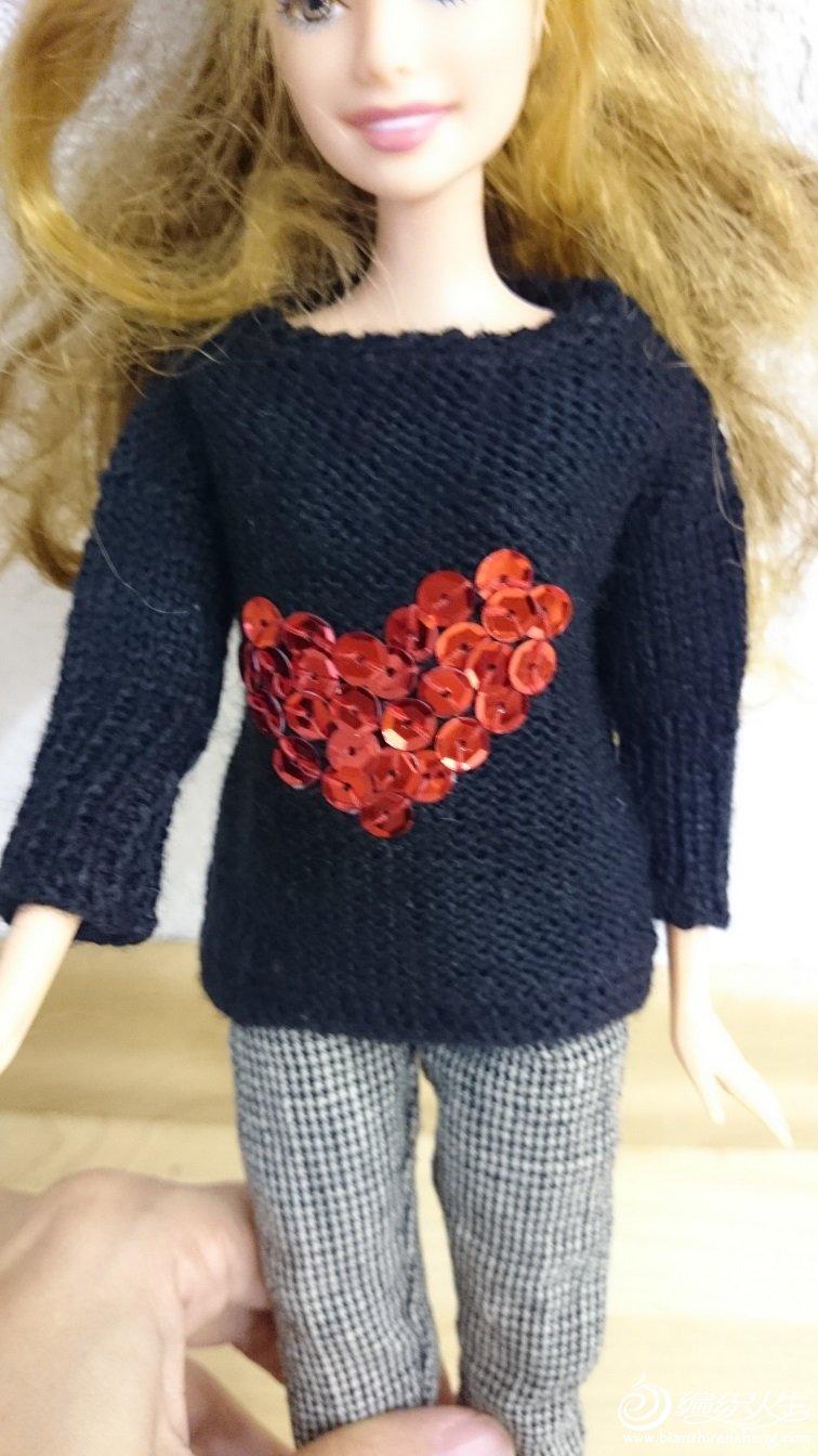 芭比娃娃毛衣