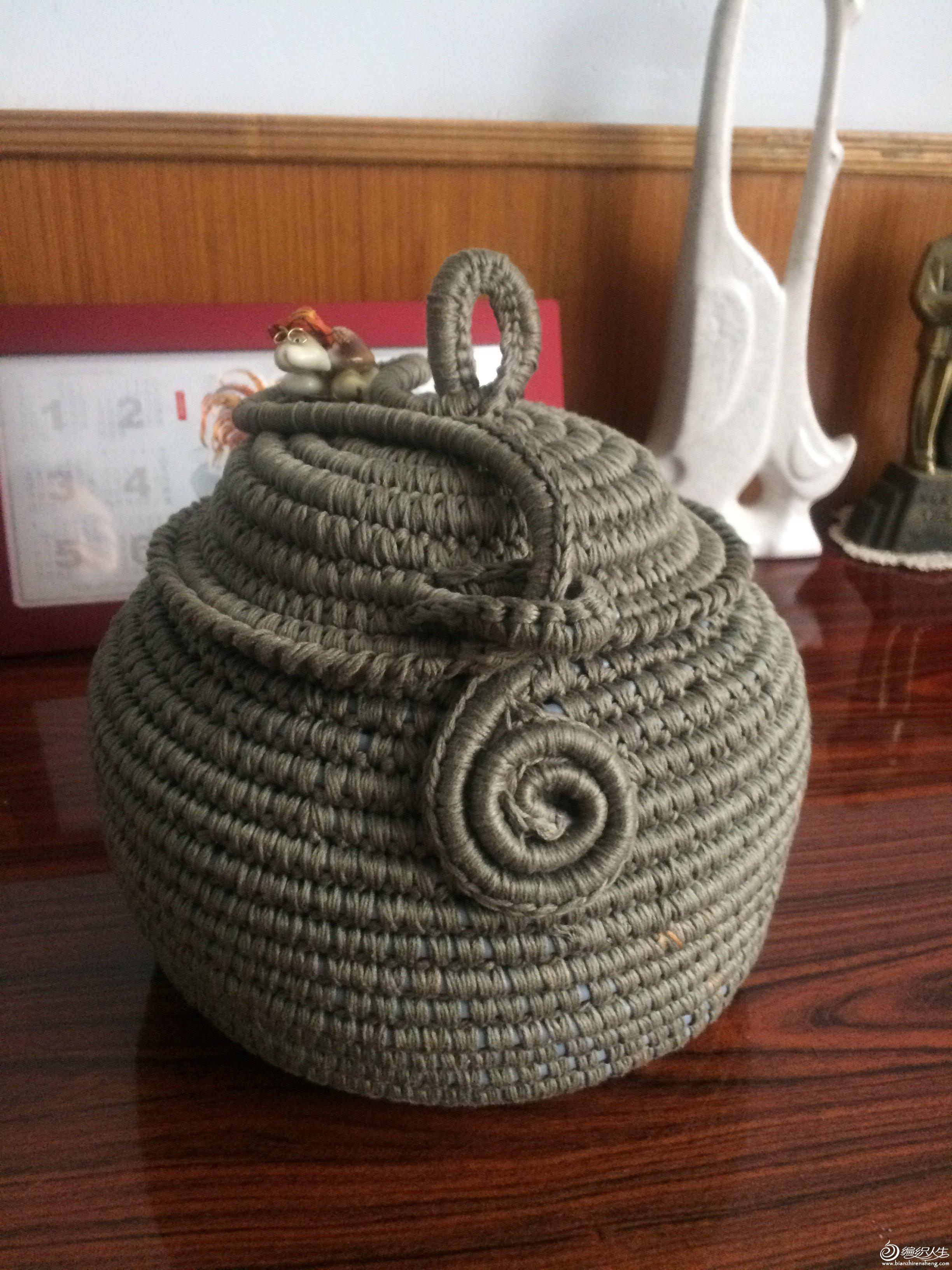 网线改造毛线罐