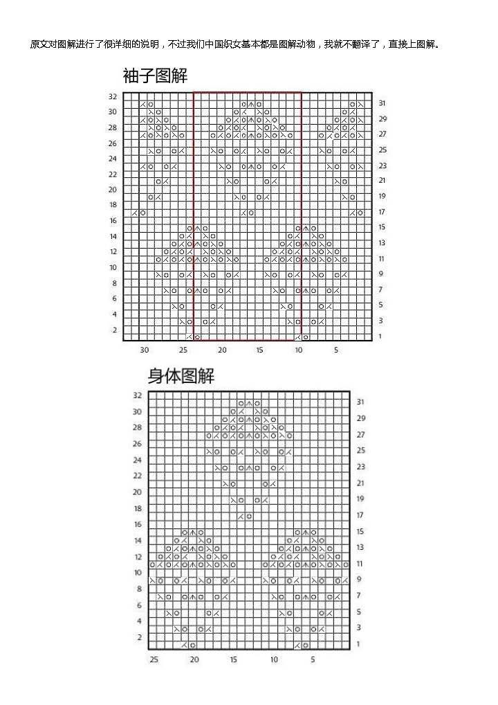 【引用译文】-金叶:简单大方无扣开衫 - 壹一 - 壹一编织博客