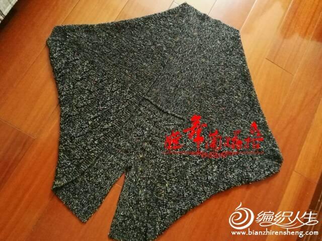 棒针折纸式开衫