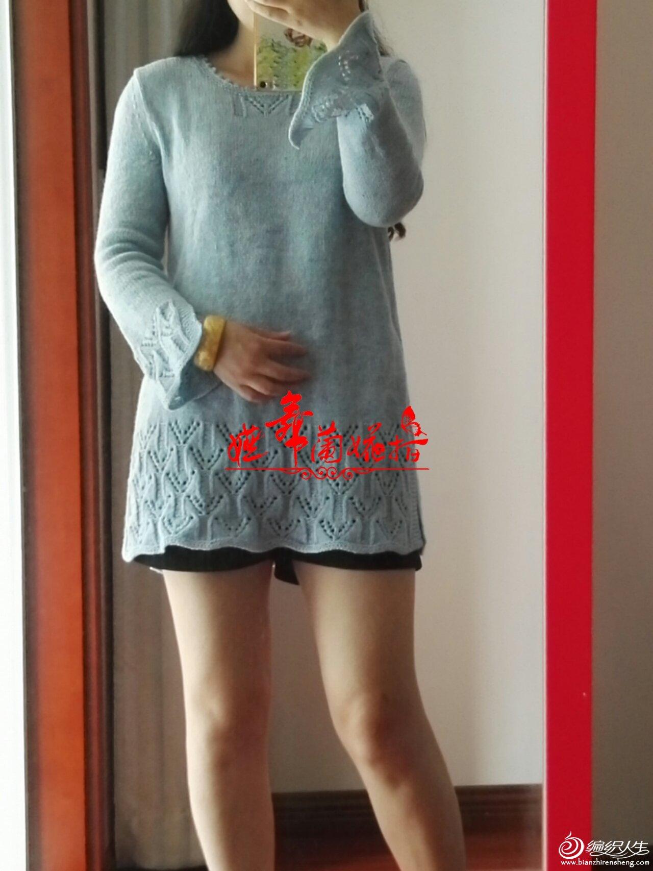 手编羊绒毛衣款式
