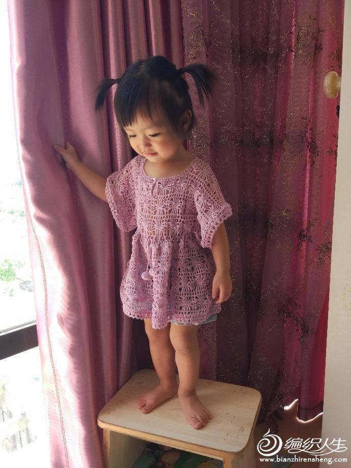 宝宝钩针裙衣