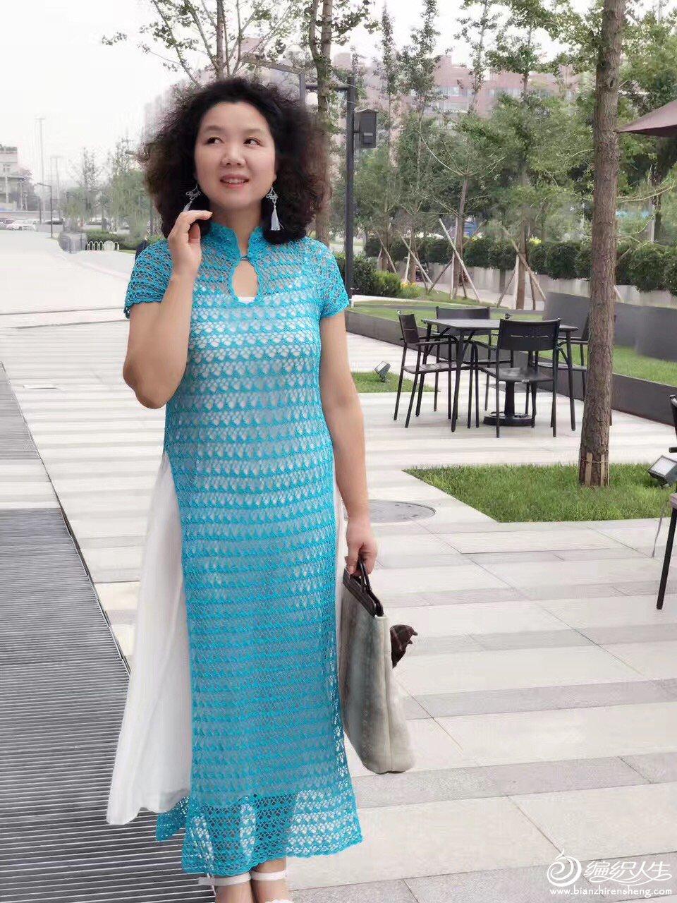 奥黛旗袍装 - 壹一 - 壹一编织博客