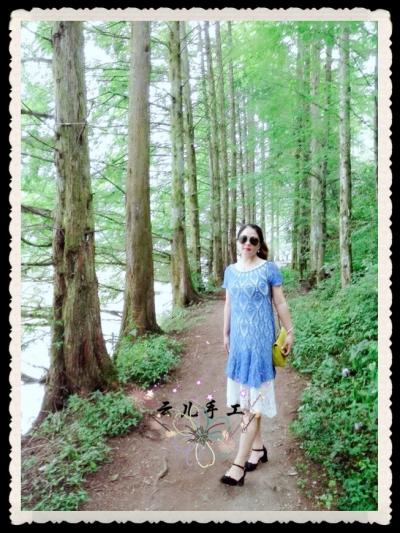 [裙装] [云儿手工]菠萝裙的诱惑 - 云儿织语 - 云儿手工的博客