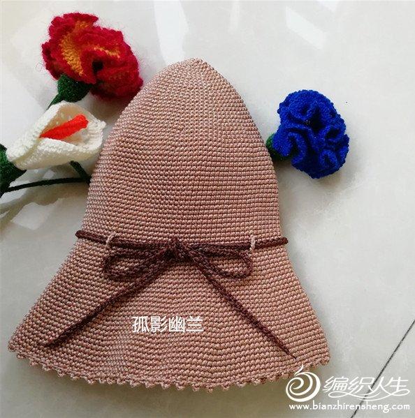 风情万种帽美如花 女士钩帽编织图文教程