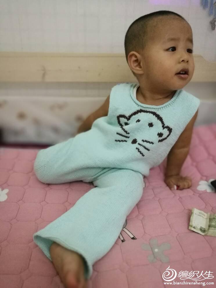 宝宝毛裤织法