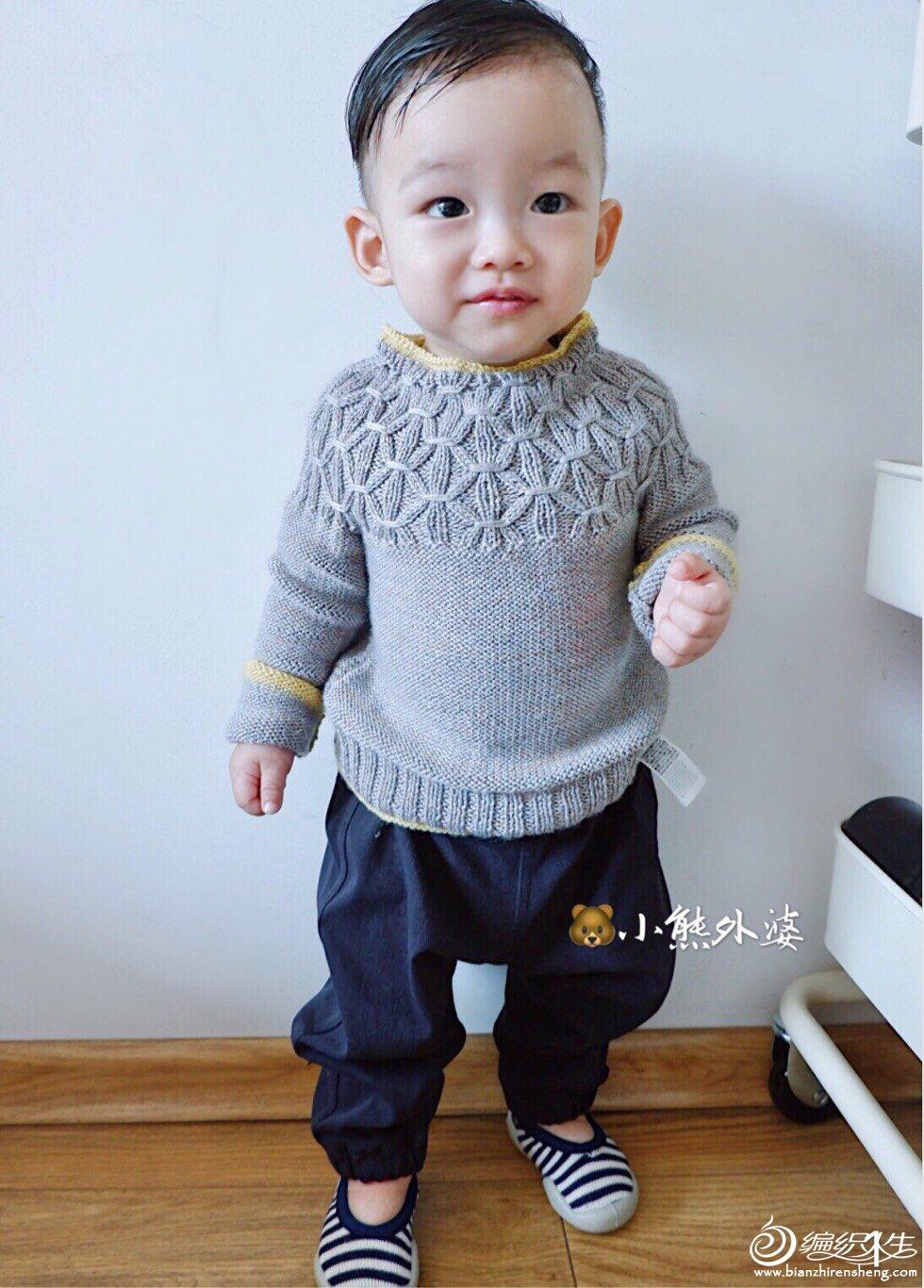 手编婴幼儿毛衣款式