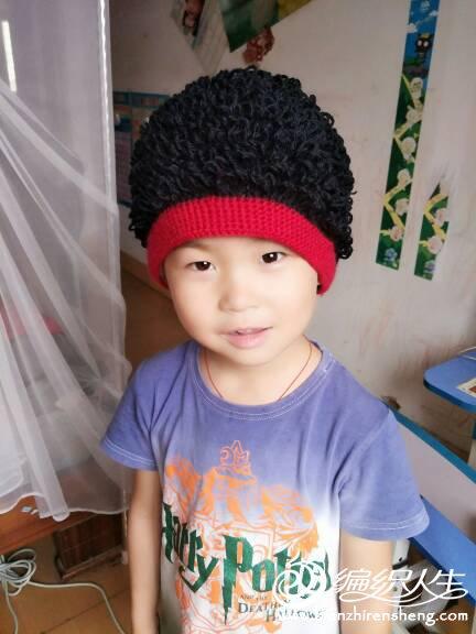 钩针假发帽