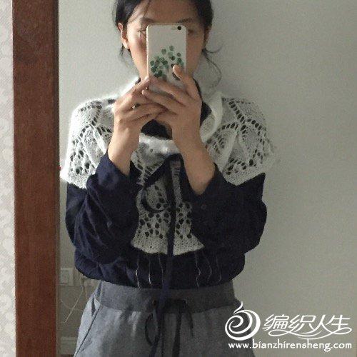 【引用译文+仿品】圆披肩-小叶圆舞曲 - 壹一 - 壹一编织博客