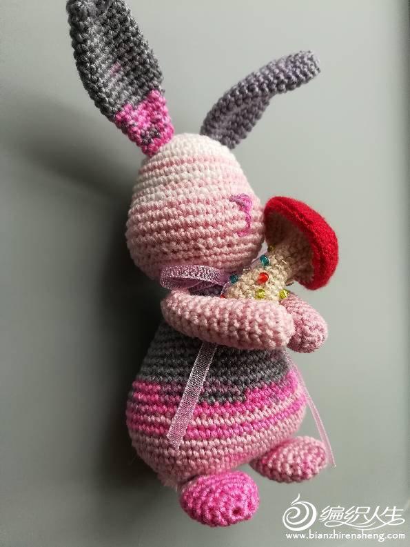 钩针长耳兔