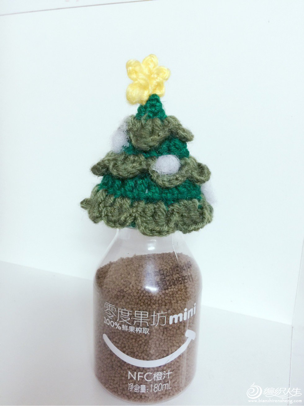 织爱公益圣诞树小帽