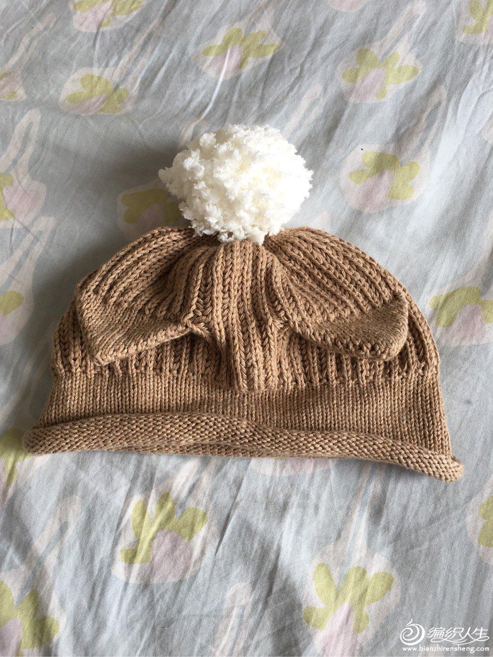 宝宝棒针帽子