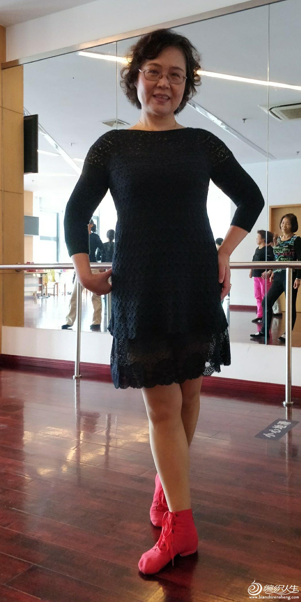 女士钩针连衣裙