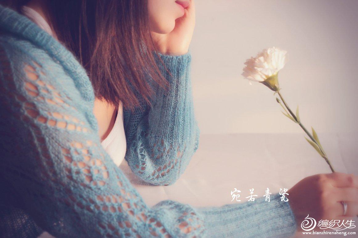 棒针蕾丝毛衣