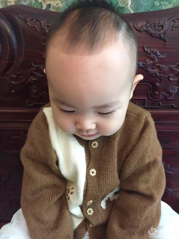幼儿棒针开衫毛衣