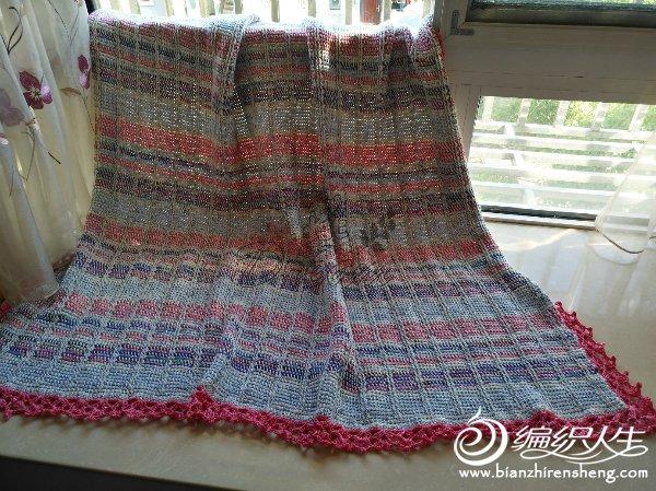 阿富汗钩针毯子