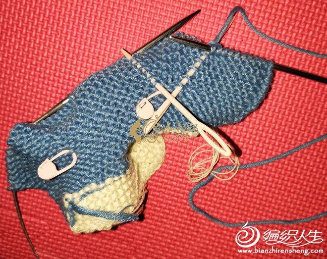 【引用】蓝云狐-狐狸围巾(图解文字+图解) - 壹一 - 壹一编织博客