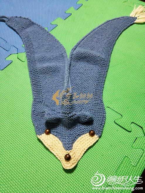 狐步舞棒针围巾